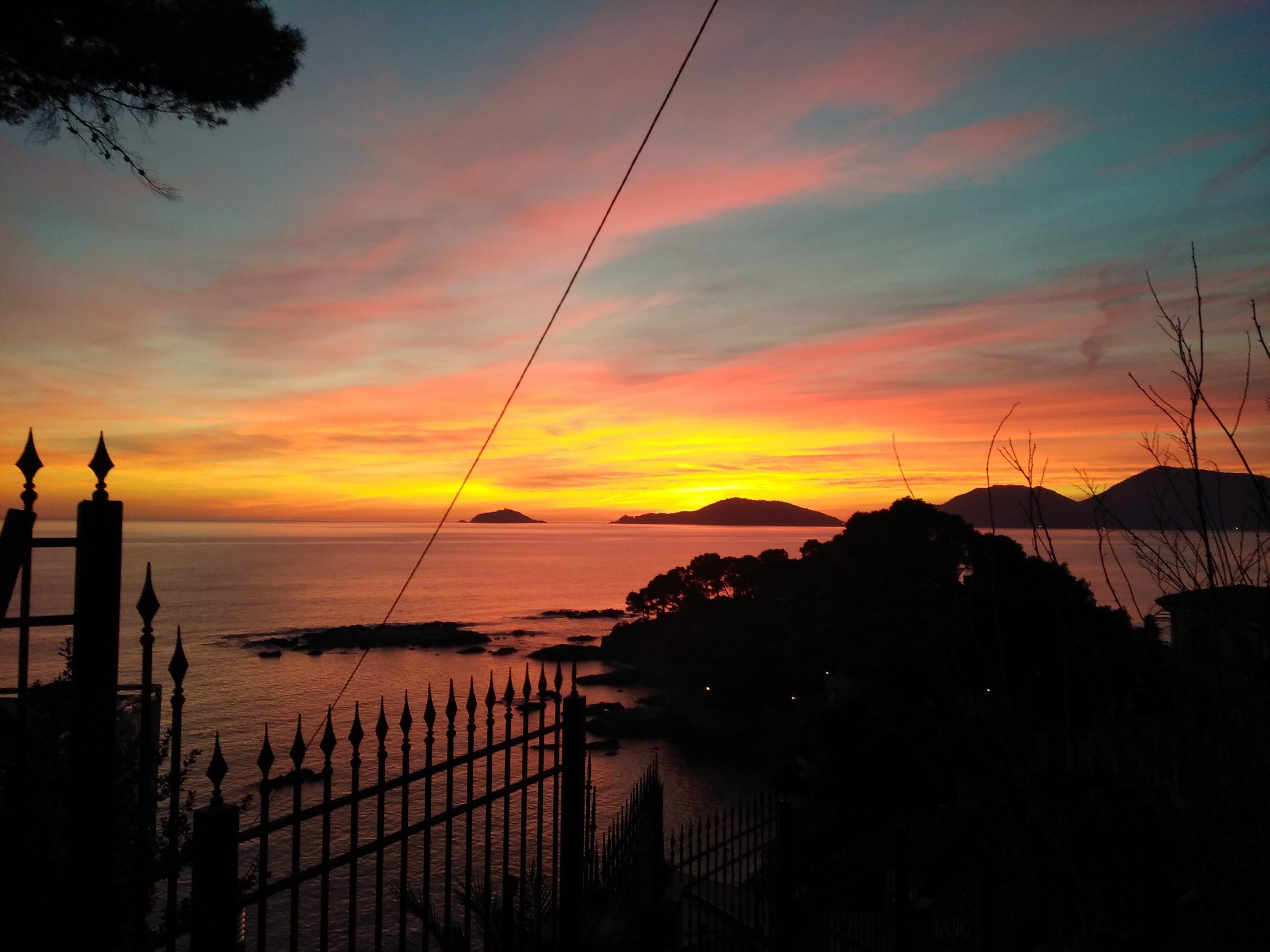 tramonto fiascherino